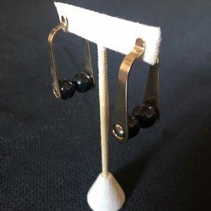 VANESSA SEWARD Gold Drop Earrings
